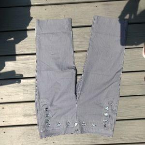 D&G Dolce and Gabbana Sailor Striped Pants